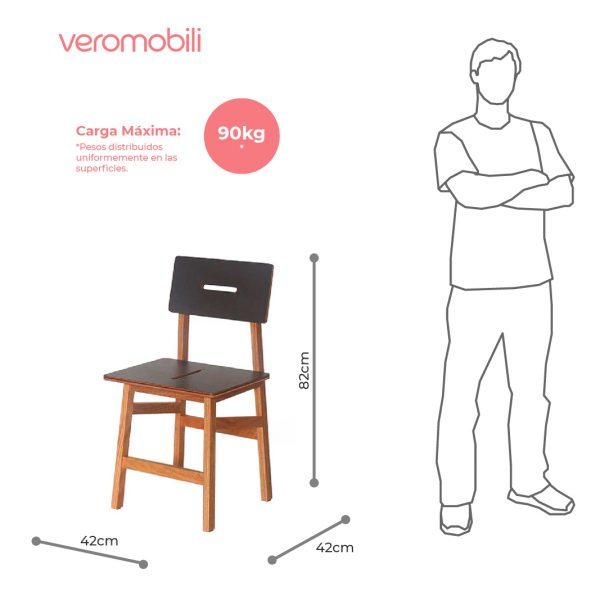 imagen tecnica silla vita